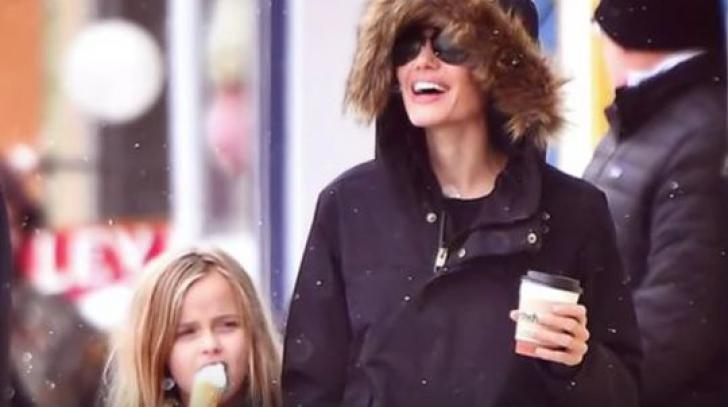Angelina Jolie, mai fericită ca niciodată fără Brad Pitt. Imaginile care au făcut înconjurul lumii