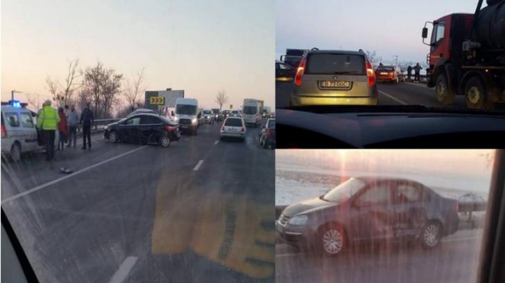 Accident DN65 Pitești – Slatina