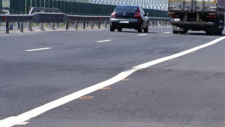 Denivelare autostradă
