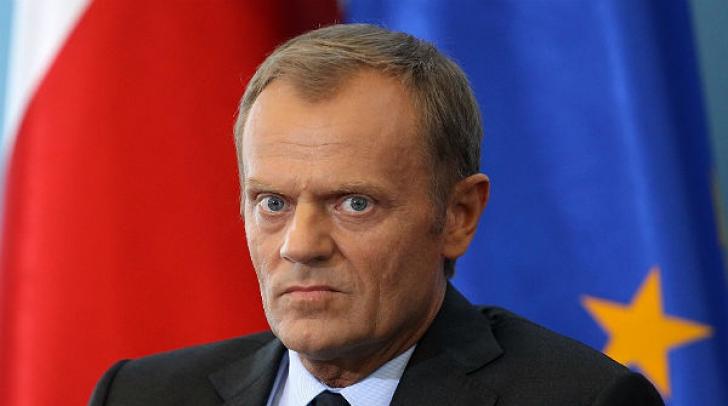 """Tusk: UE a celor 27 """"trebuie să rămână unită"""" în negocierile asupra Brexit"""