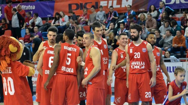 Victorie dramatică pentru CSM CSU Oradea, în Liga Campionilor la baschet