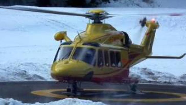 Accident aviatic în Italia. Un elicopter cu şase persoane la bord s-a prăbuşit în centrul ţării