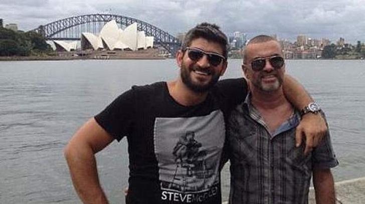 """Pe cine consideră Fadi Fawaz, iubitul lui George Michael, responsabil pentru mesaje """"sinucigaşe"""""""