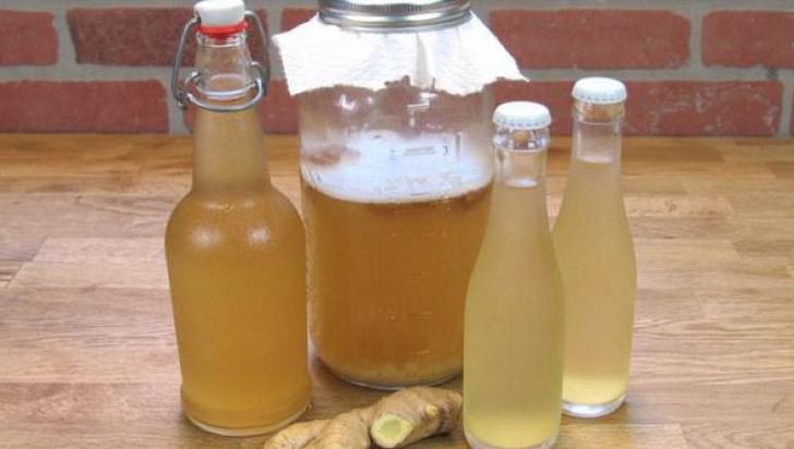 Apa de ghimbir, un adevărat miracol pentru sănătate. Cum se prepară