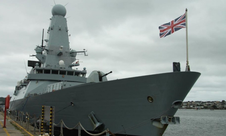 Distrugător britanic la Marea Neagră
