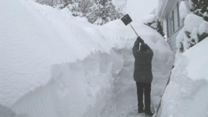 Cea mai grea iarnă din ultimii 100 de ani în România. Se adevereşte previziunea?