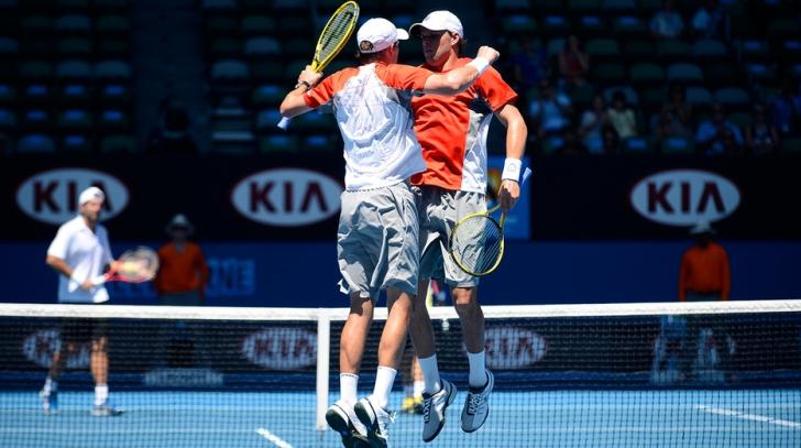 Australian Open 2017. Fraţii Bryan s-au calificat pentru a zecea oară în finala de dublu