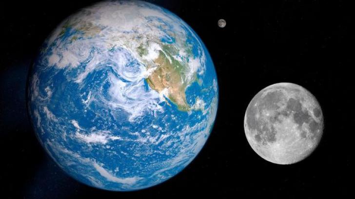 Luna și Pământul
