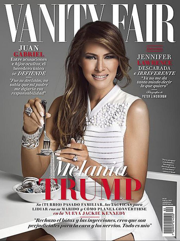 Imaginea Melaniei Trump pe coperta unei reviste din Mexic a stârnit controverse. Reacţia editorilor