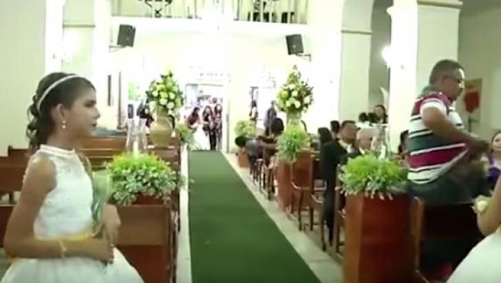 Momente de panică la o nuntă! Un bărbat a intrat în biserică și a început să tragă în invitați