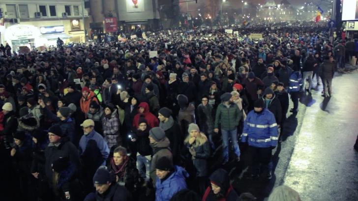 Noi proteste împotriva graţierii şi amnistiei, miercuri şi duminică seara