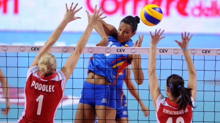 Victorie IMENSĂ a României în faţa Portugaliei, în preliminariile Campionatului European la volei