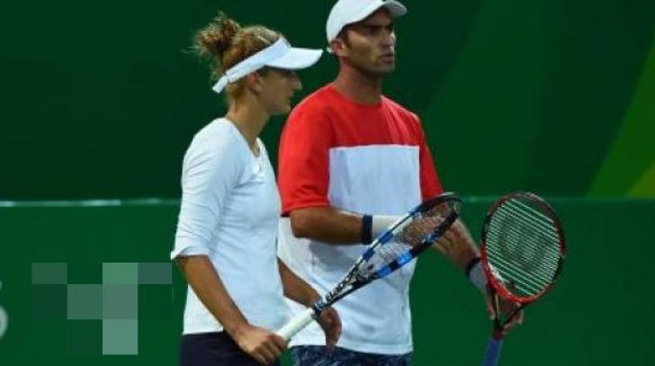 Australian Open 2017. Irina Begu şi Horia Tecău, eliminaţi în optimile probei de dublu mixt