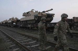 Tancuri americane in Romania