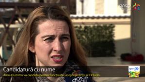 """Alina Dumitru vrea să fie vicepreședinte al FR Judo: """"Acest sport mi-a oferit o viaţă frumoasă"""""""