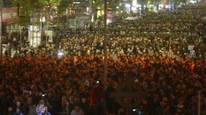 """Ministrul Justiţiei, MESAJ INCREDIBIL pentru protestatari: """"Ultimul cuvânt îl au parlamentarii"""""""