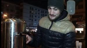 România solidară.#Rezist. O cafenea din Iaşi oferă manifestanţilor ceaiuri calde