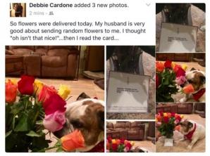Credea că florile sunt pentru ea. A văzut biletul şi a înlemnit! De atunci, nimic n-a mai fost la fel