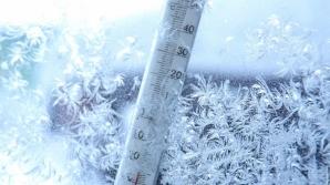 Iarna s-a întors! Temperaturi extreme în România în următoarele zile