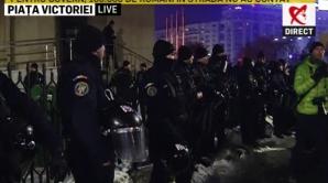 Jandarmi - proteste Guvern
