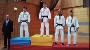 Judoka Alex Bologa, medalie de AUR, în cadrul unei competiţii desfăşurate în Germania
