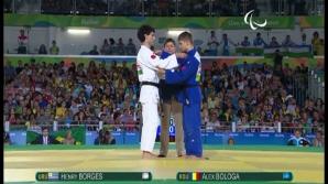 Reuşita unui JUDOKA NEVĂZĂTOR: Alex Bologa a adus României medalia de bronz la Jocurile Paralimpice
