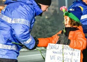 Protestul copilor Bucuresti
