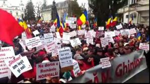Câteva mii de persoane la un miting PSD pentru susţinerea Guvernului, la Târgovişte