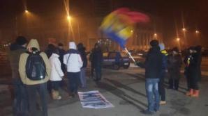 Protest la Teleorman: Aproximativ 30 de oameni în centrul municipiului Alexandria
