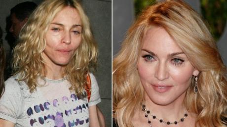 Cum Arată Vedetele Internaţionale Fără Machiaj Madonna Este De