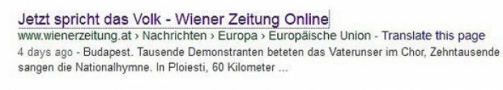 """Gafă de proporţii a jurnaliştilor din Austria. Bucureştiul a devenit iar """"Budapesta"""""""