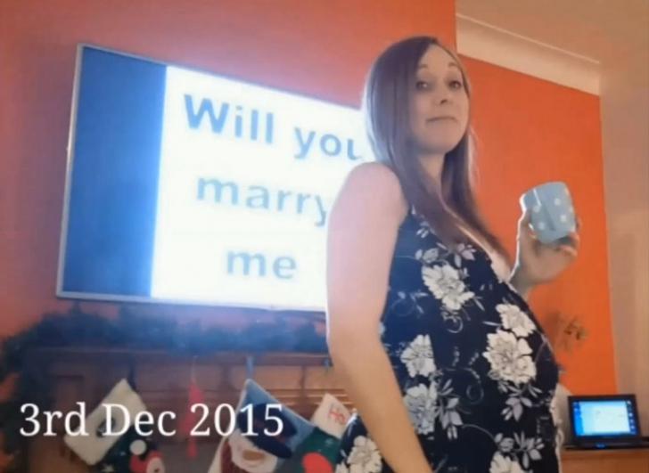 A cerut-o de soţie cam în fiecare zi, dar ea nici nu şi-a dat seama.Cum o întreba, iar ea nu realiza