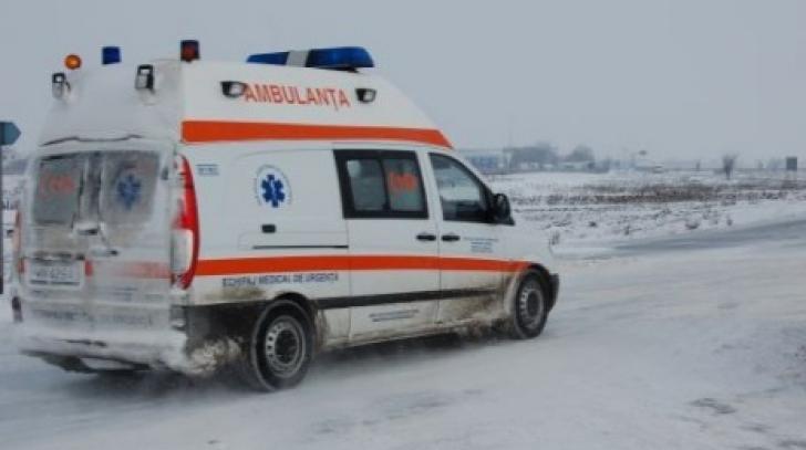 Clipe de groază în staţiunea Păltiniş. ACCIDENT cu un autocar cu 20 de copii la bord