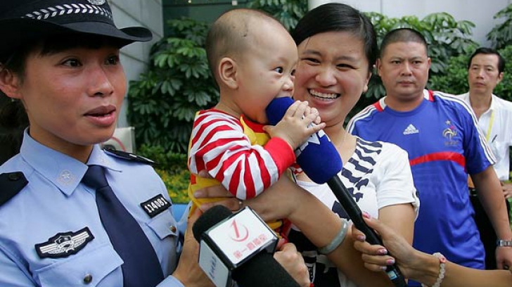 Chinezii au dat lovitura. S-a lansat aplicația împotriva traficului de copii