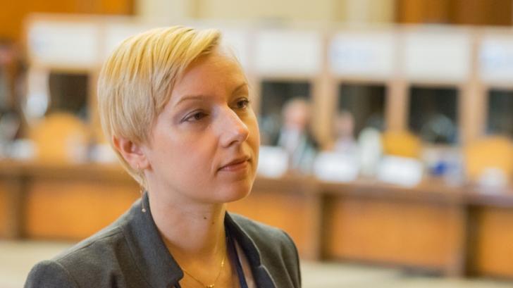 """Dana Gîrbovan, șefa UNJR: """"Propunerile legislative nu înseamnă poveşti ori prezentări PowerPoint"""""""