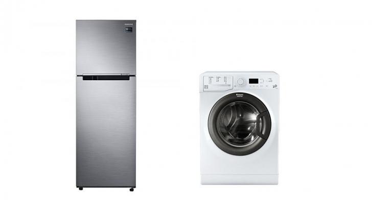 Reduceri la mașini de spălat și frigidere. TOP 10 oferte