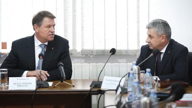 Klaus Iohannis merge la CSM