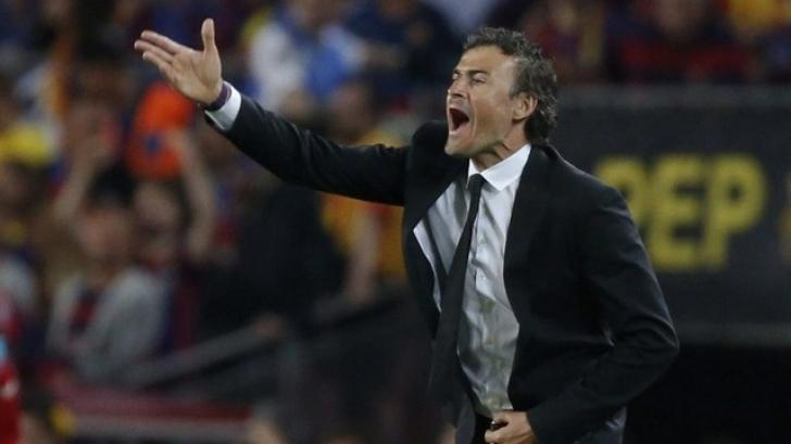 Reacţie virulentă a lui Luis Enrique după PSG-Barcelona 4-0. Cum s-a luat de un ziarist