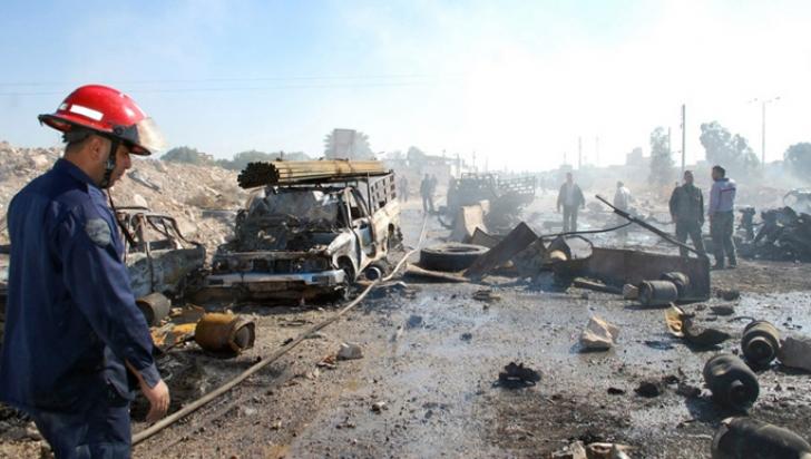 ISIS revendică atentatul din nordul Siriei de vineri, soldat cu 61 de morți