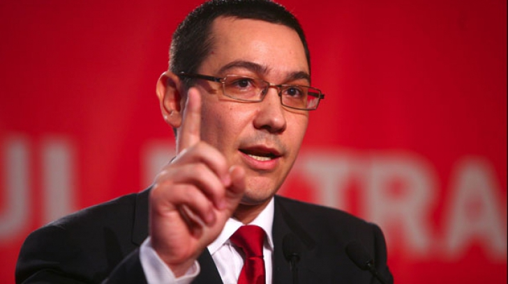Ponta îl atacă din nou pe Dragnea: Dacă nu este condus de un singur om, Guvernul se prăbuşeşte