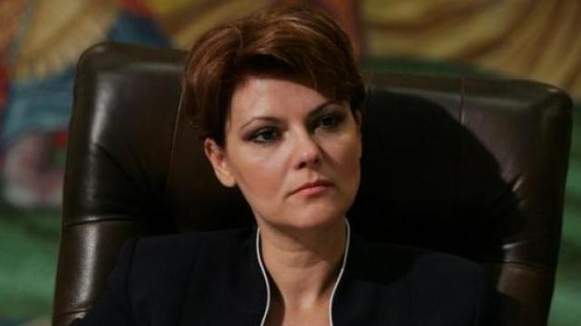 Olguța Vasilescu și promisiunile sale: Toate salariile cresc cu 25%…