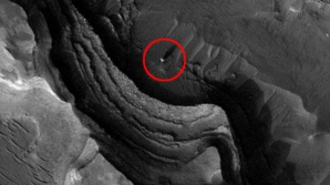 Sfera luminoasa pe Marte
