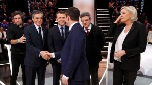 Prima dezbatere TV din campania electorala franceză