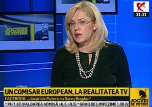 Corina Creţu - Jocuri de Putere, Realitatea TV