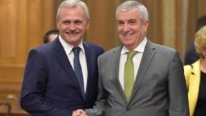 Sedinta coaliţiei de guvernare