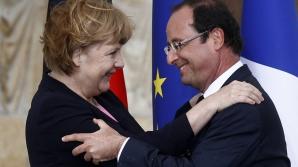 Angela Merkel și Francois Hollande