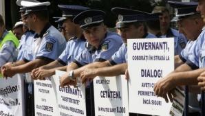 Noi negocieri între polițiști și MAI