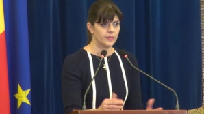Laura Codruţa Kovesi, la Ministerul Justiţiei, pentru a discuta cu Tudorel Toader