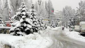 Harghita: Ninsori în tot județul; pe unele drumuri se circulă în condiții de iarnă
