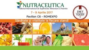 NUTRACEUTICA. Salonul Internațional de Suplimente Alimentare și Nutriție, 7 - 9 aprilie